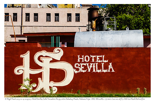 Hotel Sevilla - entrance