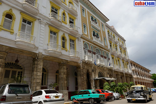 The Hotel Sevilla in Old Havana, Cuba