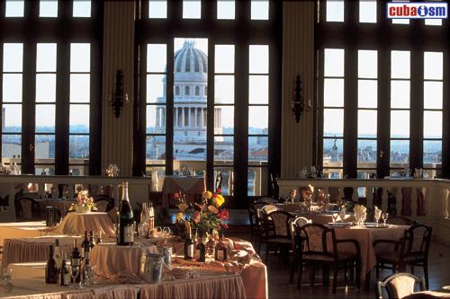 Hotel Sevilla Cuba, Roof Garden Restaurant